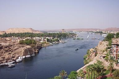 ナイル川 - エジプト, アスワン...